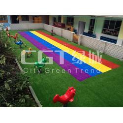 人造草|人造草坪足球场|CGT绿城图片
