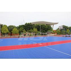 篮球场拼装地板、绿城体育、篮球场拼装地板多少钱图片