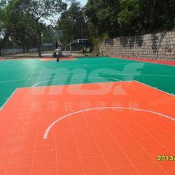 篮球场拼装地板|广州绿城|篮球场拼装地板图片