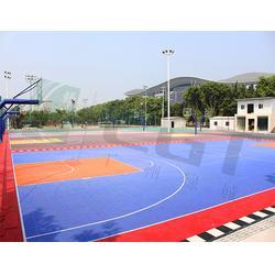 拼装地板、绿城CGT、五人制足球场拼装地板图片