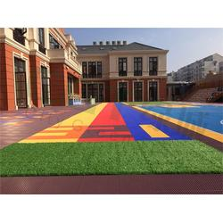 绿城CGT,拼装地板,悬浮式运动拼装地板图片
