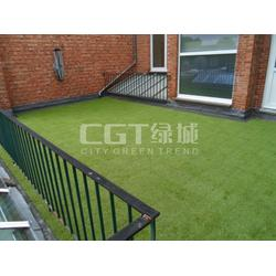 人造草坪、CGT、人造草坪施工图片
