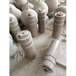 石头花盆大直径加工、莱州升龙石艺、石头花盆图片
