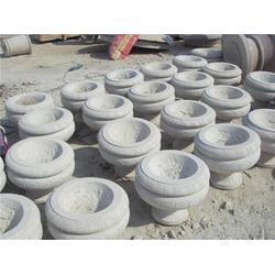 专业销售石头花盆、莱州升龙石艺(在线咨询)、石头花盆图片