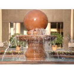 广场石雕风水球,莱州升龙石艺,石雕风水球图片