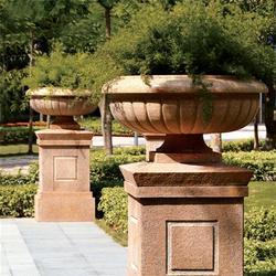 莱州升龙石艺(图),大理石石头花盆,石头花盆图片
