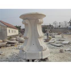 石材花盆喷泉风水球|莱州升龙石艺(在线咨询)|石材花盆图片