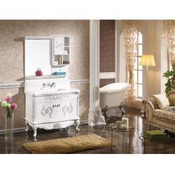 实木+大理石浴室柜|本昌紫东来浴室柜(在线咨询)|浴室柜图片