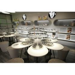 六安眼镜展柜定做、郑州视尚空间装饰(在线咨询)、眼镜展柜定做图片