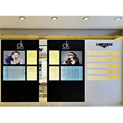 郑州视尚空间装饰(图)、淮安眼镜店装修、眼镜店装修图片