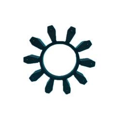 FLENDER BIPEX BWN43、53、62、72、84、97、112黑色彈性體圖片