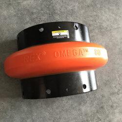 REX OMEGA E60 聯軸器 原裝 空壓機配件 輪胎體圖片