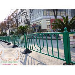 道路护栏、烤漆道路护栏现货、锌钢道路护栏图片