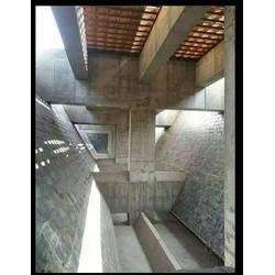 压延微晶板_泰达橡塑高耐磨耐腐蚀如何解决煤仓堵仓用压延微晶板图片