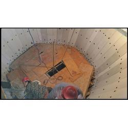 料仓粘料|用泰达橡塑料仓耐磨滑板|料仓粘料用料仓耐磨衬板图片