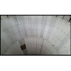 料仓漏斗架桥悬仓棚仓堵塞怎么办棚仓堵塞安装泰达橡塑防粘耐磨板图片