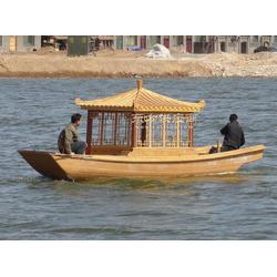 观光电瓶船 休闲观光船图片