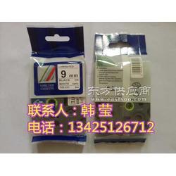 日本兄弟标签机pt-7600电力行业专用线缆标识打码机tze-231白底黑字8米图片