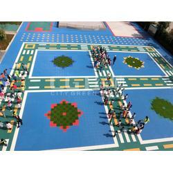 拼装轮滑地板 CGT(在线咨询) 拼装地板图片