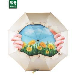 手动折叠伞、添奇雨伞(在线咨询)、江门折叠伞图片
