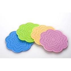 鑫盟橡塑 方形硅胶杯垫-硅胶杯垫图片