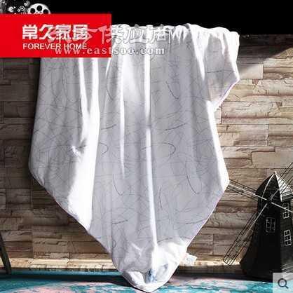 蚕丝被常久家居100桑蚕丝优质全棉面料手工拉制单双人蚕丝被芯