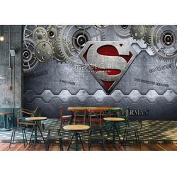 餐厅涂鸦美式墙纸 酒吧工业风3d金属壁画 KTV网咖生锈铁壁纸图片