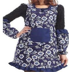 廚房好幫手 防水帶兜印花圍裙-誠拓勞保服裝(已認證)花圍裙圖片