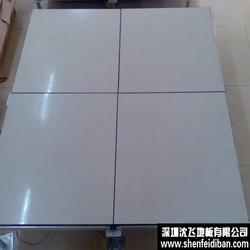 全钢防静电地板,首选沈飞地板,全钢防静电地板厂家图片