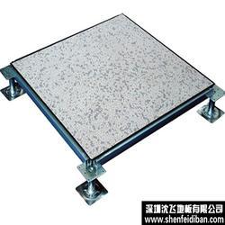 防静电地板定制、首选沈飞地板、全钢防静电地板定制品牌图片