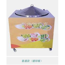 烤蒸馒头锅图片
