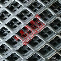 喷漆菱形防护网,镀锌钢板网厂家,不锈钢菱形网图片