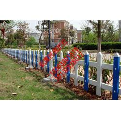30公分塑钢栅栏,pvc栅栏,花坛护栏图片