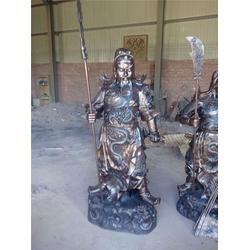 60公分纯铜关公摆件、立保铜雕厂 、纯铜关公摆件图片
