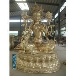 藏佛铸铜商场厂家、新疆藏佛铸铜、恒保发铜藏佛铸造厂家图片