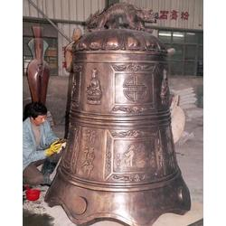 定制铜钟-大型雕塑厂推荐澳门金沙娱乐平台 铜钟生产厂图片