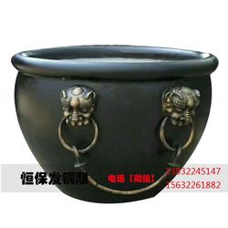 紫铜大缸制造公司-儋州紫铜大缸-铜雕厂自产自销(查看)图片
