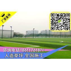 塘沽足球场人造草皮铺设人工草坪东丽图片
