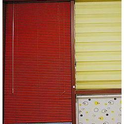 唐河百叶窗帘,免安装百叶窗帘,华夏布老虎布艺(优质商家)图片