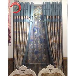 确山欧式窗帘、华夏布老虎布艺物美价廉、欧式窗帘图片
