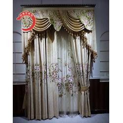 欧式窗帘|华夏布老虎布艺信誉保证|登封欧式窗帘品质商图片