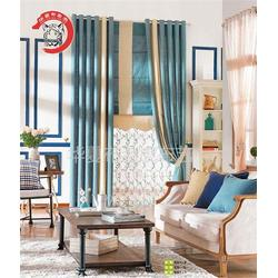 现代窗帘定做、华夏布老虎布艺(已认证)、现代窗帘图片
