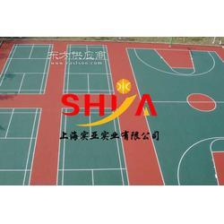 供应塑胶篮球场材料生产商图片