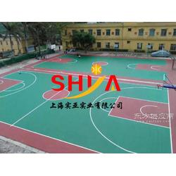 供应高品质塑胶篮球场图片