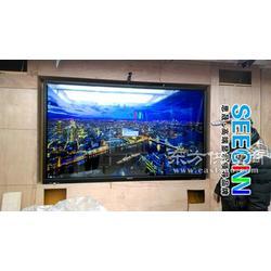 监控行业新秀 98寸工业液晶监视器 98寸工业显示器监控无死角图片