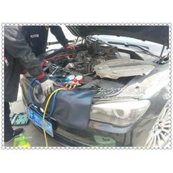 宝马750空调不凉故障维修图片
