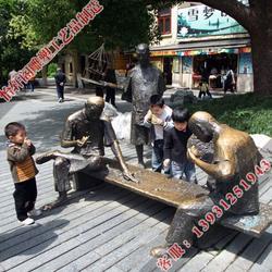 青海人物雕塑|怡轩阁铜雕厂|人物雕塑制作图片