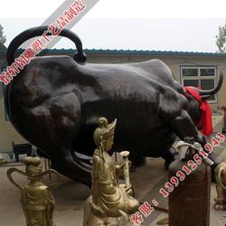 怡轩阁铜牛(图),铸造铜牛厂,铜牛厂图片