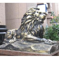 怡軒閣雕塑-2米銅獅子廠家-徐州銅獅子廠家圖片