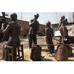 人物雕塑定做厂家,北京人物雕塑,怡轩阁铜工艺品图片